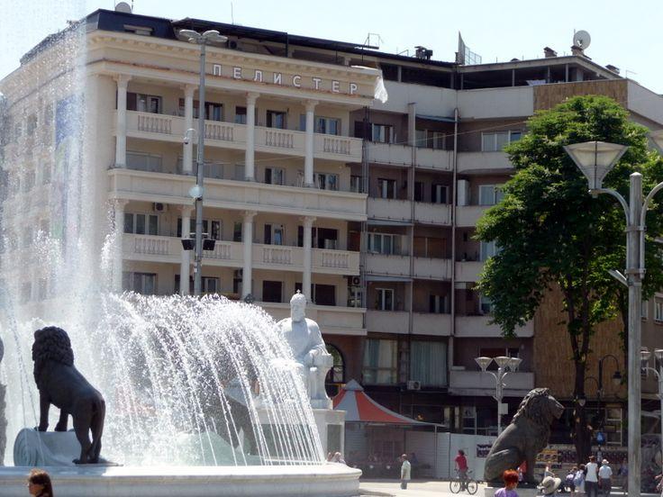 Macedonian Tower Blocks Get Classical Touches :: Balkan Insight
