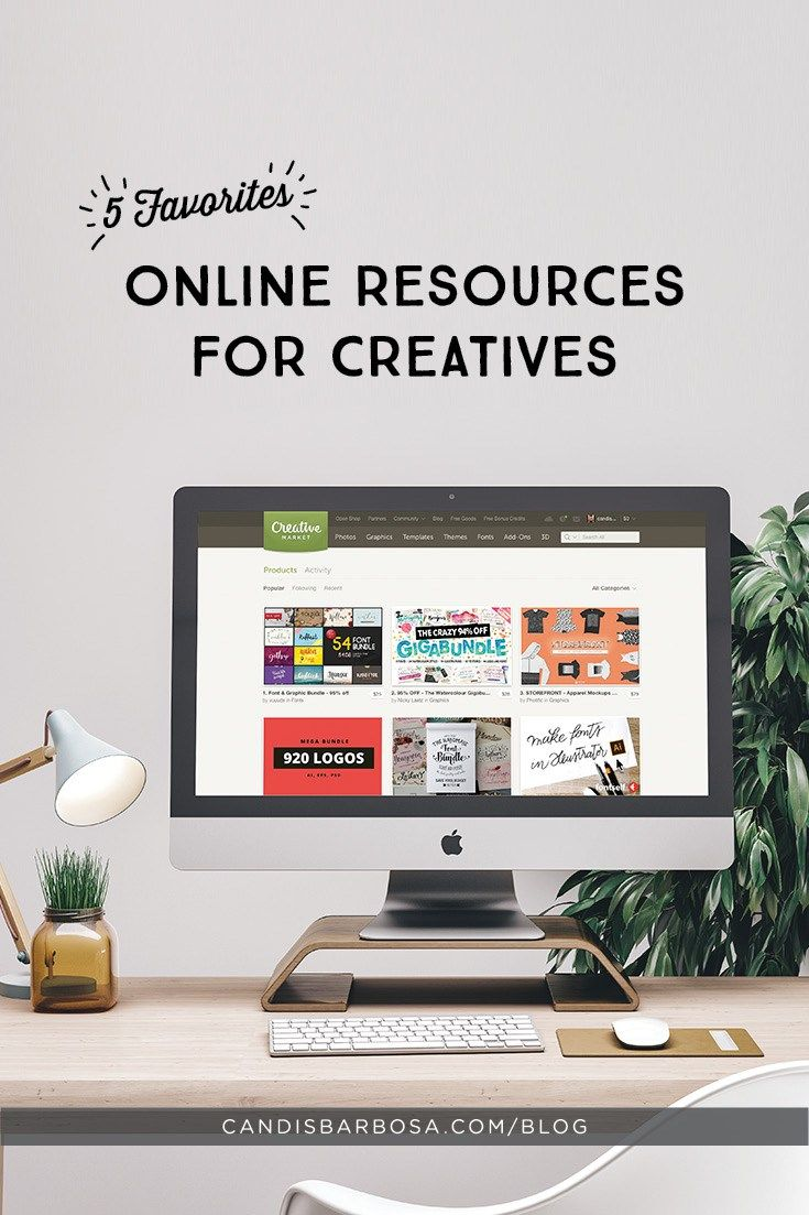 5 Favorites: Online Resources for Creatives