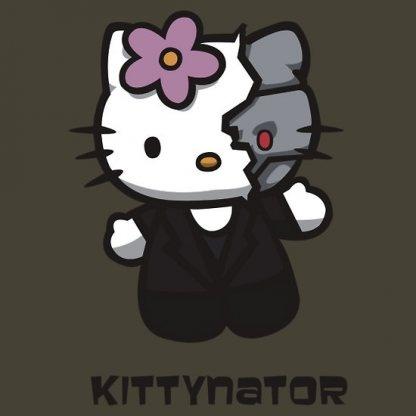 So cute! Hello Kitty terminator