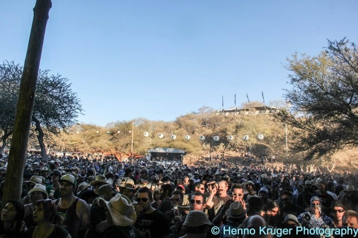 Crowd at Albert Frost Set at Oppikoppi 2012 Sweet Thing