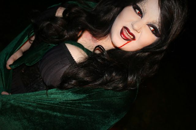 She Might Be Loved: Bride of Dracula Halloween Look with Dance Depot