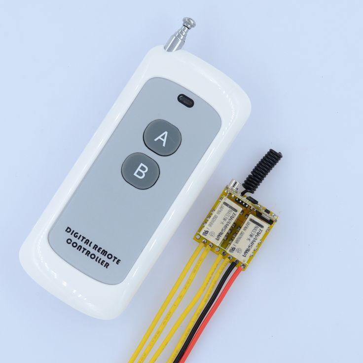 $14.99 (Buy here: https://alitems.com/g/1e8d114494ebda23ff8b16525dc3e8/?i=5&ulp=https%3A%2F%2Fwww.aliexpress.com%2Fitem%2FDC-4-5V-5V-6V-7-4V-9V-12V-2-Gang-Channel-Mini-Relay-Remote-Switch%2F32719215924.html ) DC 4.5V 5V 6V 7.4V 9V 12V 2 Gang Channel Mini Relay Remote Switch LED Signal Line Remote Contact Switch Output Switching Value for just $14.99