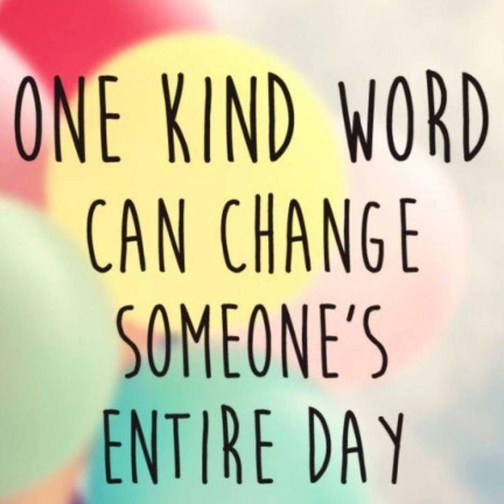 Una palabra puede cambiar todo el día a alguien!  Seamos transmisores de paz amor amabilidad. Hagamos el bien no importa a quien.  Buongiorno   #happyday #changeentireday #love #peace #kindness #byou #becomplete