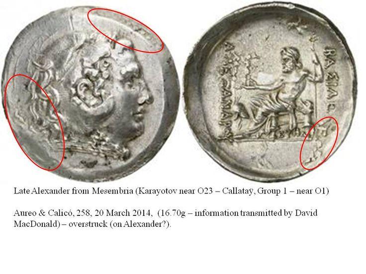 Greek Overstrike Thrace Mesambria (information transmitted by David MacDonald)