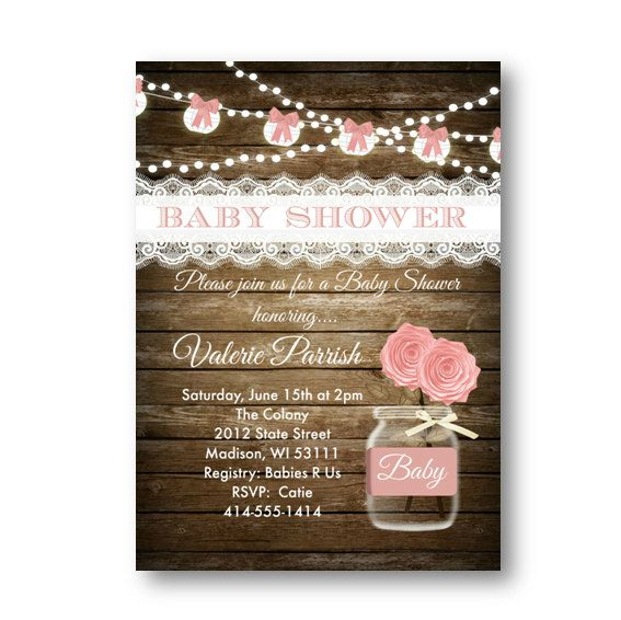 Girly Rustic Chic Bedroom: The 25+ Best Rustic Baby Showers Ideas On Pinterest
