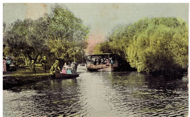 Fairyland, at Lake Wendouree, Ballarat, c.1905. My grandmother sent this card to her father.