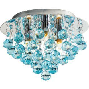 buy living joy flush droplets ceiling fitting duck egg at. Black Bedroom Furniture Sets. Home Design Ideas