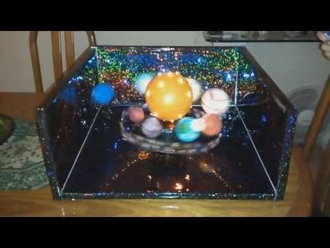 Cómo hacer una maqueta del Sistema Solar en 10 pasos - YouTube