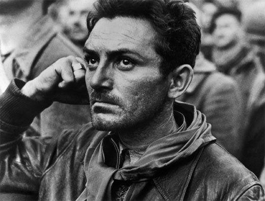 Retrato de un brigadista en Montblanc el 25 de octubre de 1938. Una de las fotografías más famosas que Robert Capa hizo en La Guerra Civil Española.