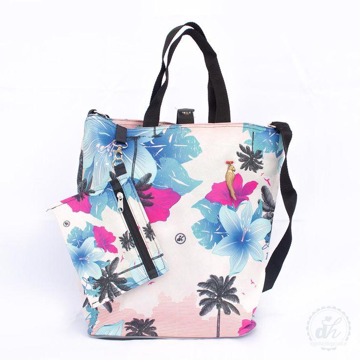 Bolso matero - Hawaii tropical