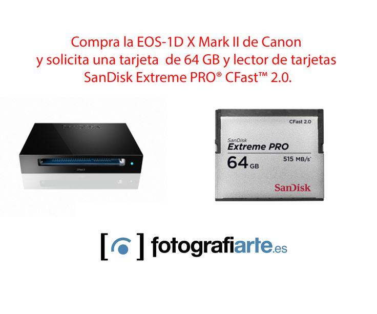 La Cámara de Fotos Canon Eos 1 DX Mark II es uno de los mayores exponentes de la fotografía digital profesional moderna. Cómprala aquí.