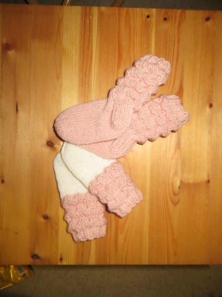 Baby-set, vantar och sockor