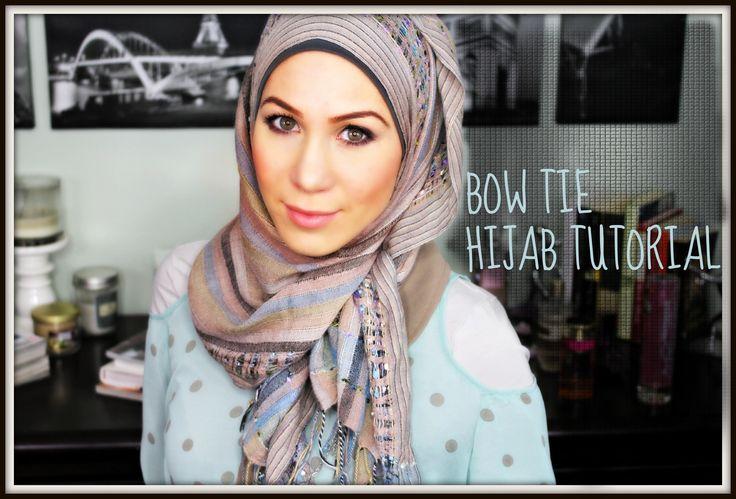 ♡ Bow Tie Hijab Tutorial