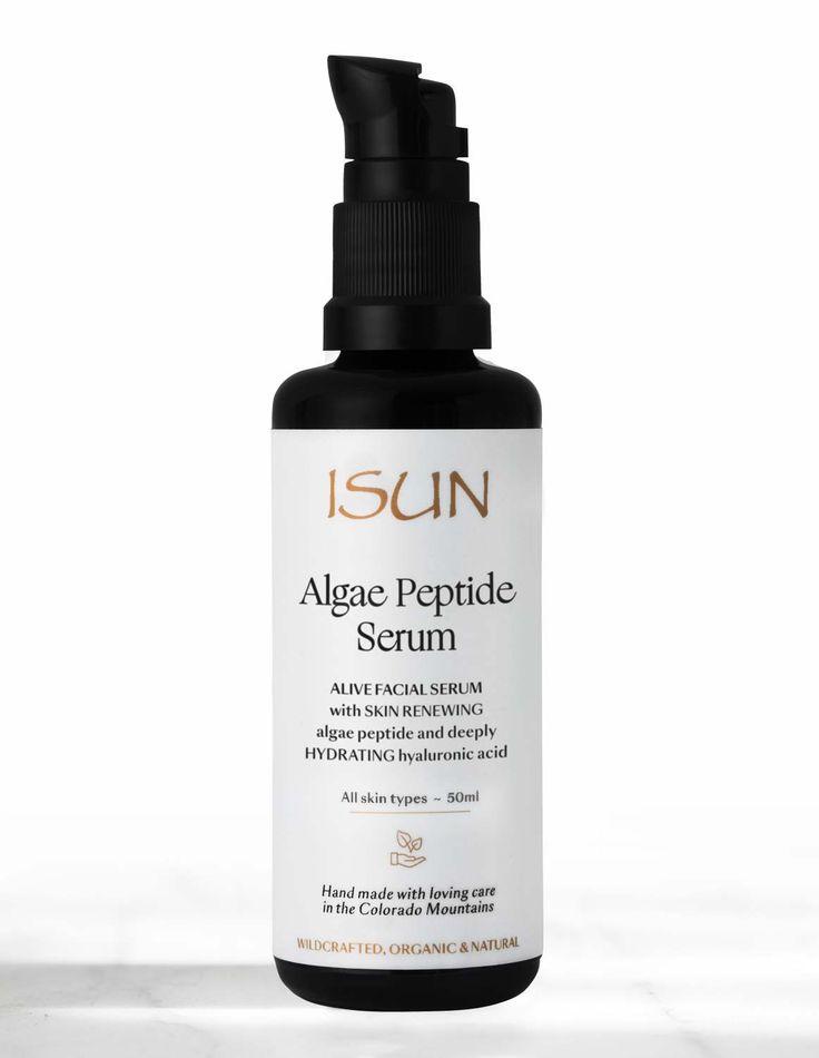 ISUN Skincare Algae Peptide Serum - Naturlig hudpleie med viltvoksende og økologiske ingredienser