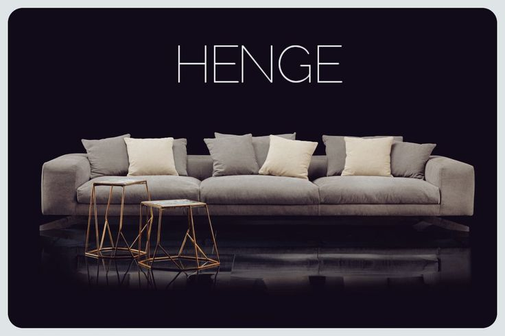 Henge S Perla Soft Sofa. Designed By Massimo Castagna | Italian Design |  HENGE | Furniture | Pinterest