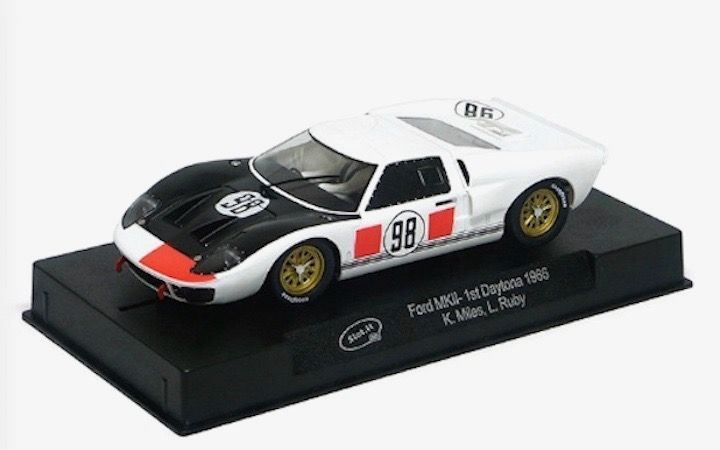Slot It Sica20b Ford Gt40 Mkii 98 Shelby American Miles Ruby