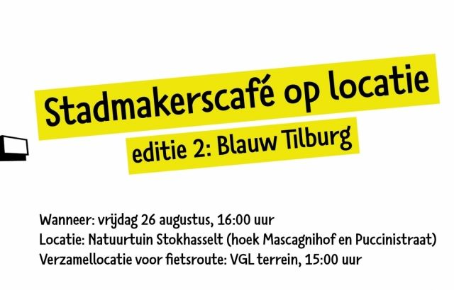 Laatste kansom Blauw Tilburg kunstwerken te zien tijdens editie 2 Stadmakerscafé Tilburg