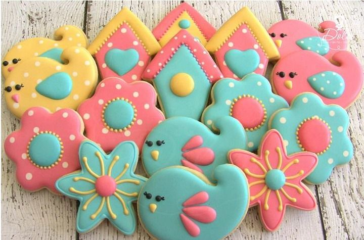 Spring cookies by Dolce