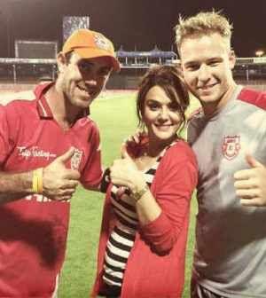 Glenn Maxwell will lead the Kings XI Punjab side