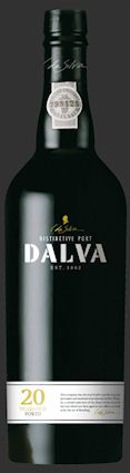 Dalva 20 Years Old Tawny. Gamme actuelle.