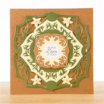 Buy Create and Craft Couture Collection Spring Orchard Corners from CreateAndCraft.tv