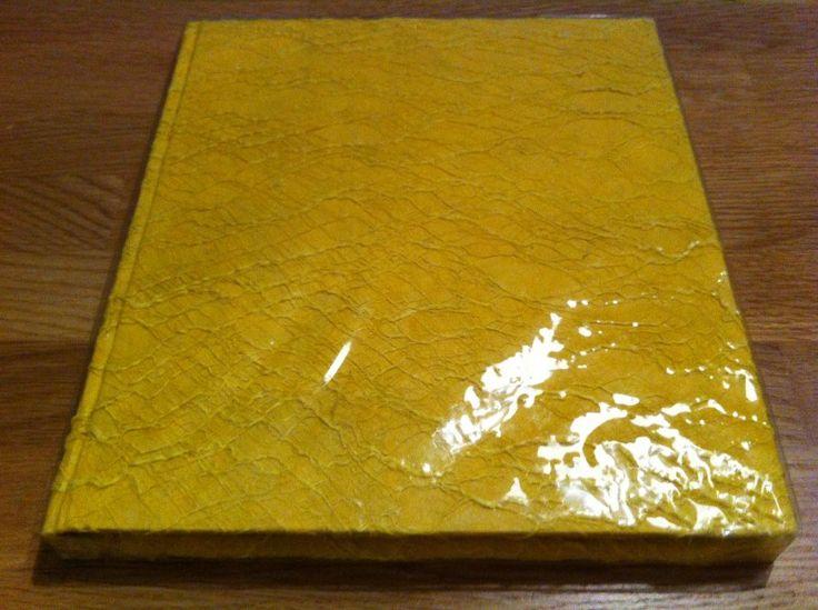 receptieboek th 025 geel