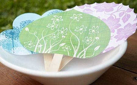 Pai pai como hacer abanicos de papel para boda yo digo - Como hacer una boda diferente ...