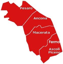 Provinces of Le Marche