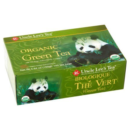 Uncle Lee's Tea Organic Green Tea Bags, 100 count Image 2 of 6