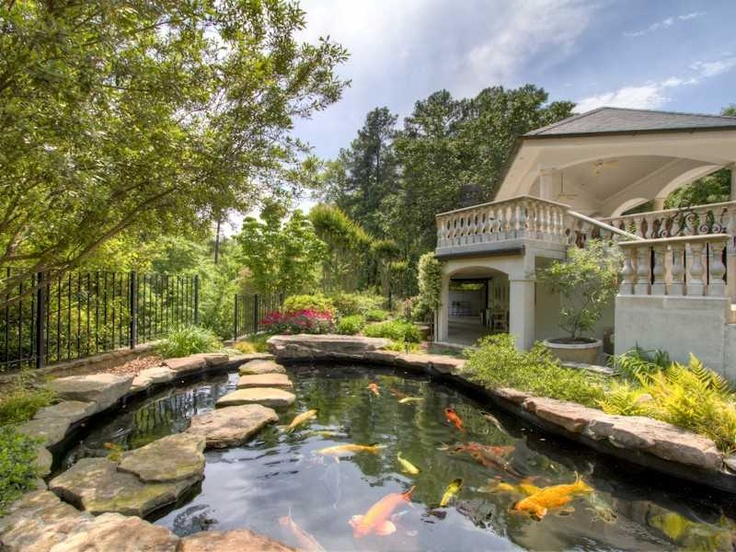 25 best ideas about coy pond on pinterest outdoor fish for Koi pond builders near me