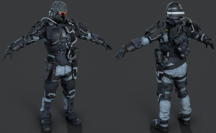 Killzone Shadow Fall - Helghast Infantry E3/Beta by luxox18