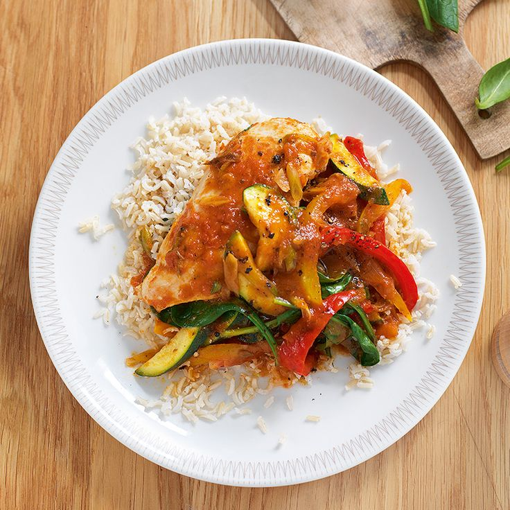No Count quick chicken cacciatore with rice Recipe | Weight Watchers UK