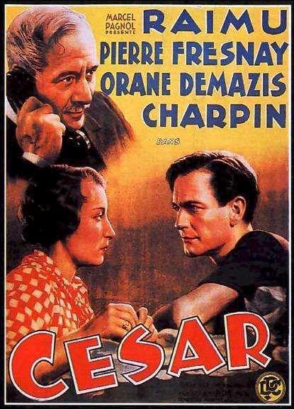 César est un film français écrit et réalisé par Marcel Pagnol, sorti en 1936. Dernier volet de la trilogie marseillaise, César n'est pas comme les deux premiers opus, l'adaptation cinématographique d'une pièce de théâtre mais a été écrit directement pour l'écran. Pagnol a adapté le scénario pour le théâtre en 1946. Vingt ans ont passé... Césariot, élevé à grands frais par le généreux Panisse, sort premier de l'école Polytechnique. Après l'enterrement de Panisse, il apprend que celui-ci…
