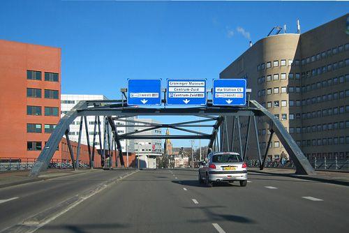 Emmaviaduct. Groningen. The Netherlands.