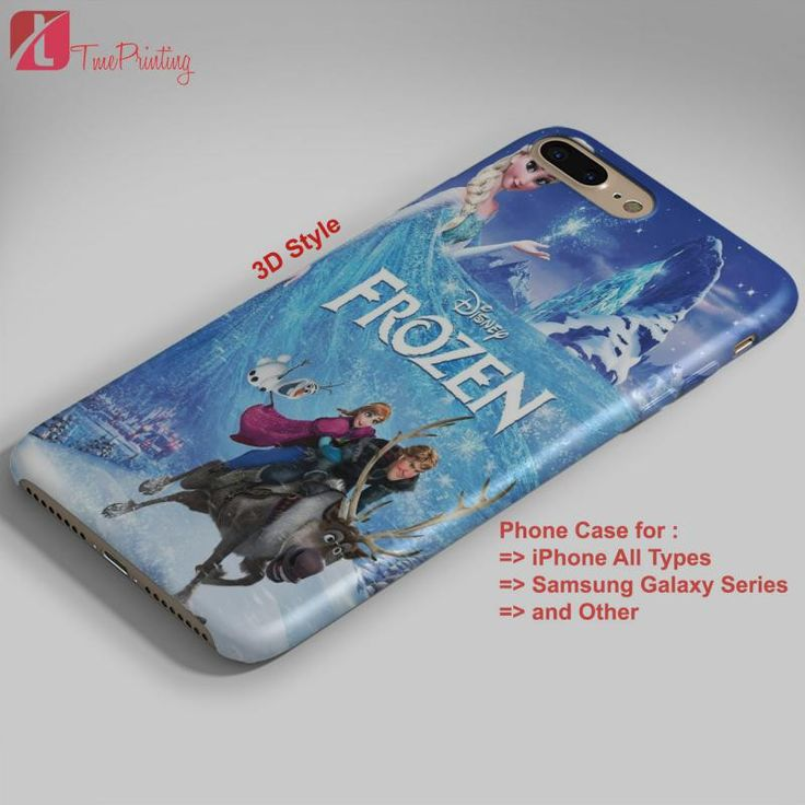 frozen Sing Along Edition Frozen Merch - Personalized iPhone 7 Case, iPhone 6/6S Plus, 5 5S SE, 7S Plus, Samsung Galaxy S5 S6 S7 S8 Case, and Other