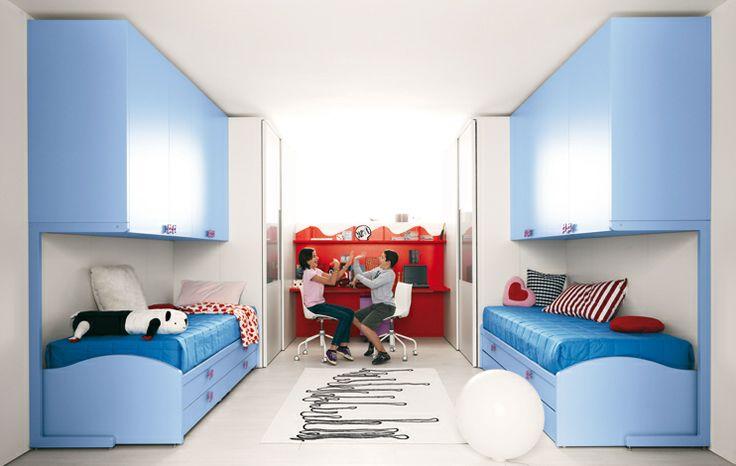 Klou #dormire due cabine speculari con apertura scorrevole colore ...