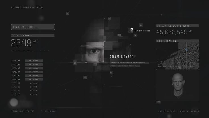 Call of Duty Web Experience on Behance