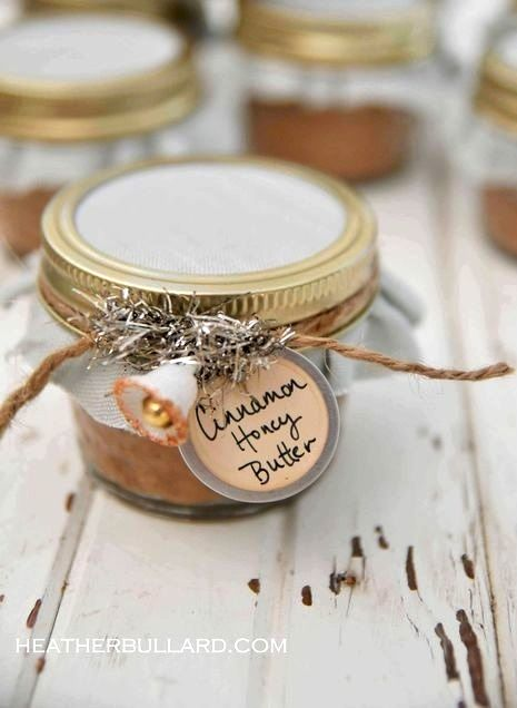 Christmas gift ideas Cinnamon honey butter homemade gifts  ToniKami ℬe Meℜℜy DIY gifts crafts #Christmas