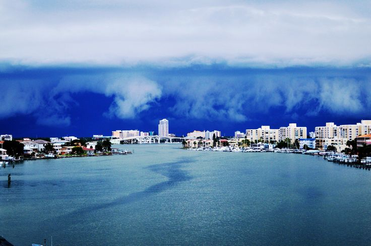 View in clearwater Beach, Florida, harbor, sunset, clouds, travel, traveling, beautiful view
