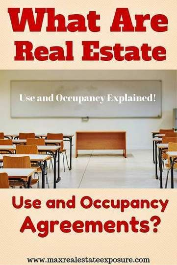 How Do Use and Occupancy Agreements Work? http://www.scoop.it/t/real-estate-by-bill-gassett/p/4051063685/2015/09/08/how-do-use-and-occupancy-agreements-work