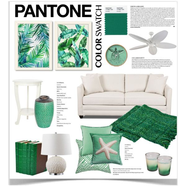 Pantone Color Swatch by jpetersen on Polyvore featuring interior, interiors, interior design, home, home decor, interior decorating, Safavieh, Americanflat, Bandhini Homewear Design and Monte Carlo