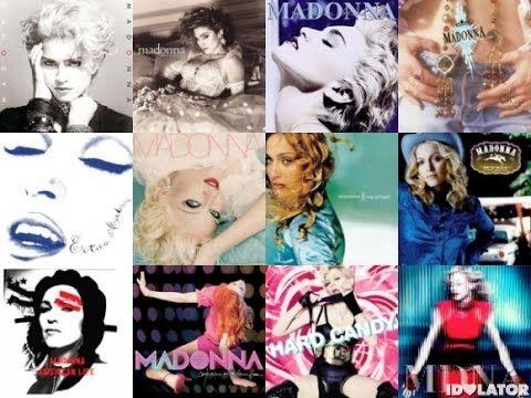 Madonna : tous ses albums en vidéos