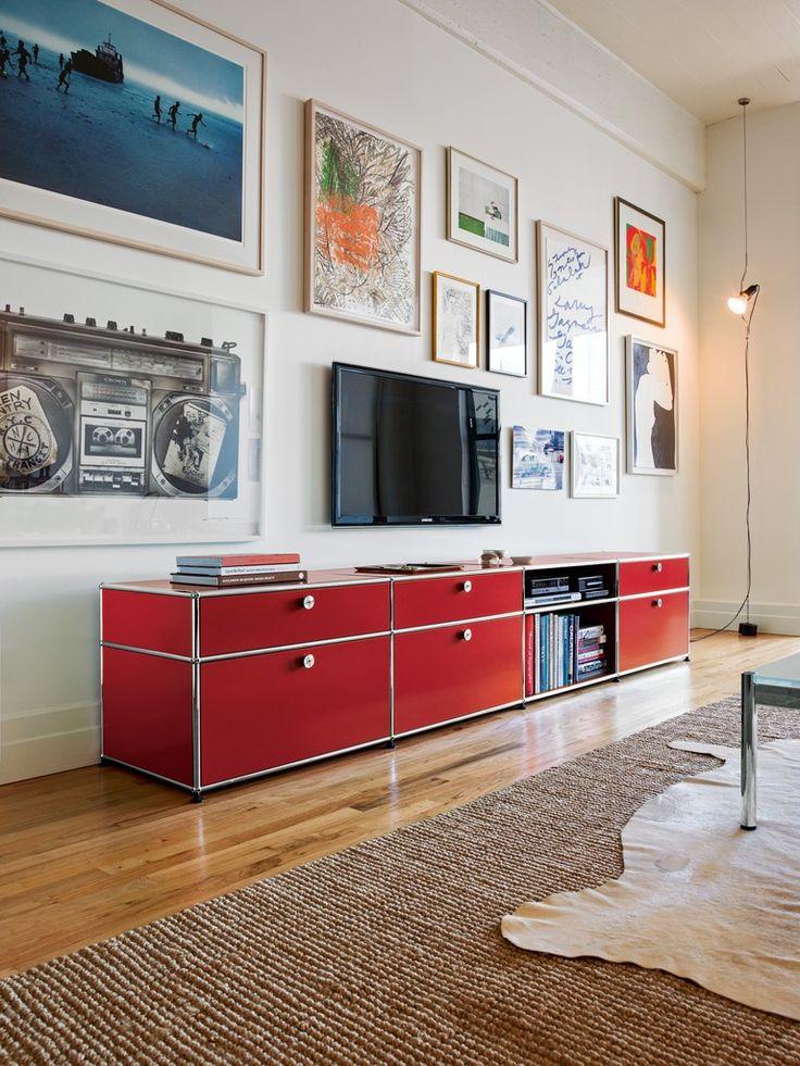 usm haller wohnzimmer: Den Fernseher auf Pinterest
