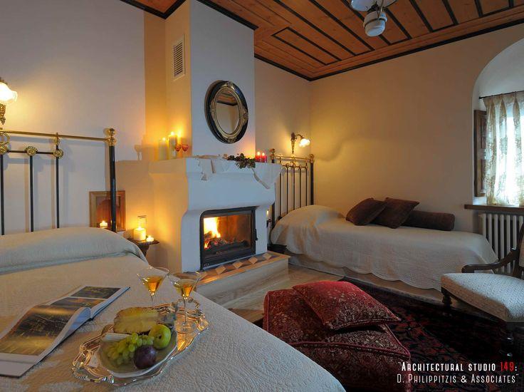 Bedrooms _ interior design | hotel | renovation | reuse | mansion | Pelion _ visit us at: www.philippitzis.gr