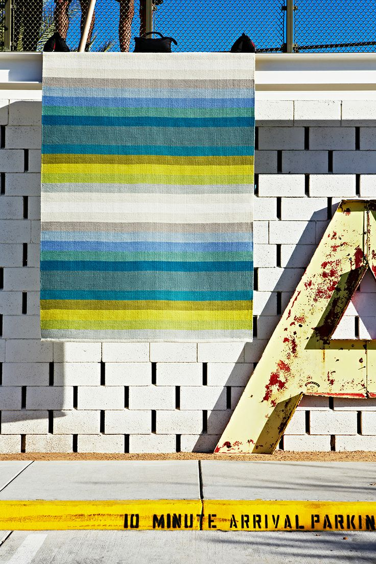 Designer Collection 'Ribbon Multi-Stripe' rug | see more: http://armadillo-co.com/item-category/designer-collection/ i just love this new custom rug by armadillo, such a great choice of colours