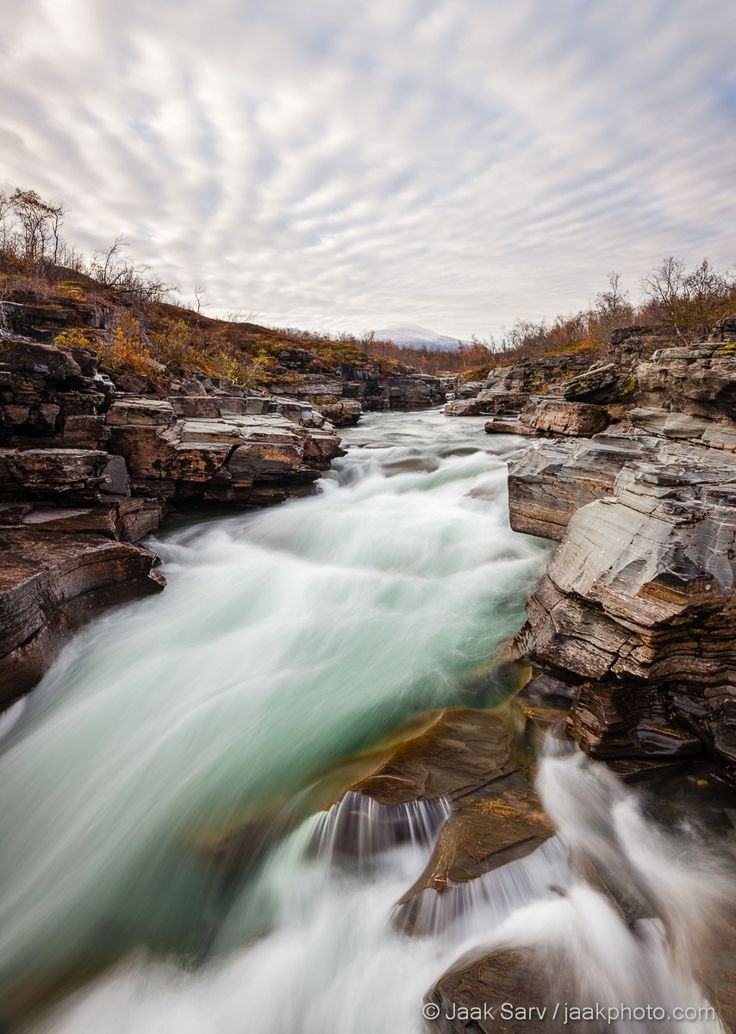 Abisko Canyon by Jaak Sarv on 500px. Sweden