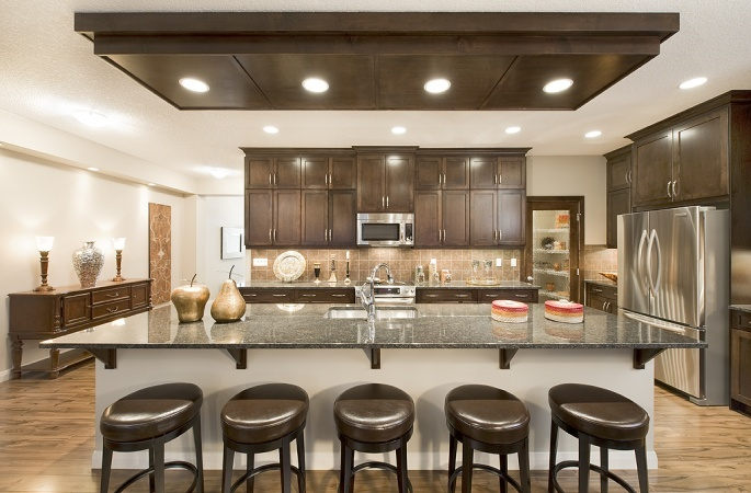 Ashbury in Redstone by Broadview Homes. Click here for more #decorating & #decor ideas: http://www.broadviewhomes.com/calgary/photo-gallery #kitchen