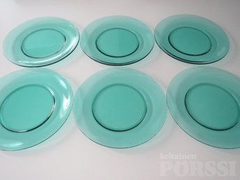 IITTALA VERNA -LASILAUTASET. Got 3x these in green for 2e!! 5.8.2014