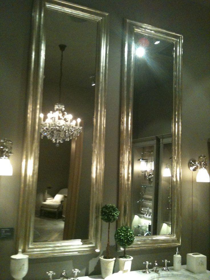 Bathroom Mirror Hardware 35 best beautiful bathroom mirrors images on pinterest | bathroom