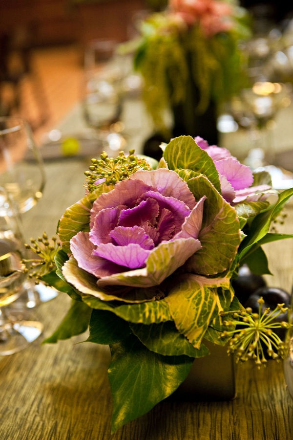 Beautiful Fall Centerpiece / Photography by www.kimlindphotography.com, Floral Design by www.branchoutflowers.com